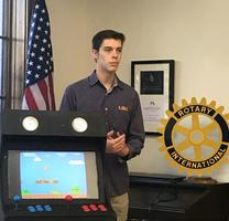 Young Entrepreneurs Academy of Baton Rouge makes presentation to St. Francisville Rotary Club