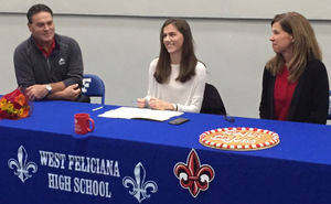 Saints runner Kelly Goff sign with UL-Lafayette