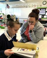 Bains Elementary School students take ownership of their learning