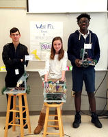 West Feliciana Middle School students create robots with Louisiana style