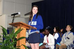 West Feliciana Middle School students lead recognition program