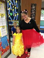 Homecoming week has Bains Lower Elementary School students dressing for the occasion