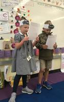 Bains students take part in Leader in Me lesson
