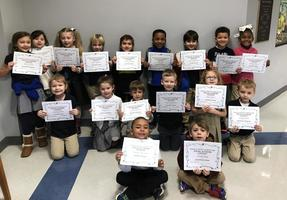 Bains Lower Elementary School students are winners in Young Authors Contest