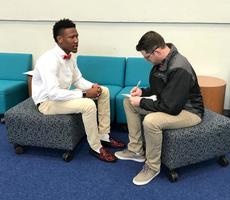 West Feliciana High School seniors prepare for job interviews