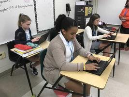 Middle-school students take keyboarding for high school credit ADVOCATE STAFF REPORT