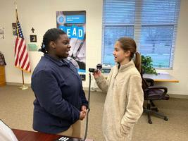 West Feliciana Middle School students lead morning announcements