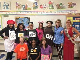 Bains Elementary School teachers put Halloween themes to work in classrooms