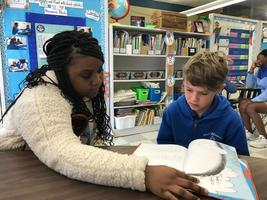 Reading Together: Programs pairs West Feliciana Middle students with Bains Elementary students