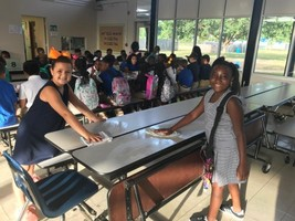 Students lead by example at Bains Elementary