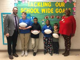 Bains Elementary School rewards students for progress