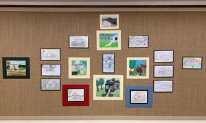 West Feliciana students' images of Old Benevolent are on display