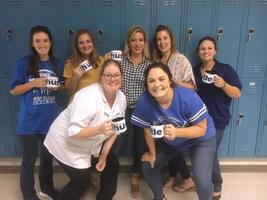 West Feliciana High School faculty members shed inhibitions for homecoming pep rally talent show