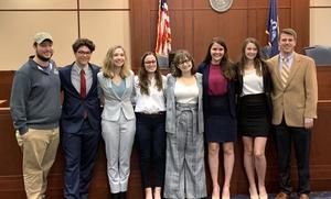 West Feliciana High School mock trial team advances to state competition