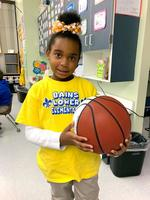 Bains Lower Elementary School first-grader joins 100 AR Club