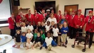 Students visit veterans at home in Jackson