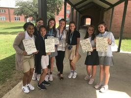 West Feliciana Middle School students lead digital announcements