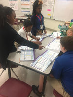 West Feliciana Middle class interviews each other to learn career goals