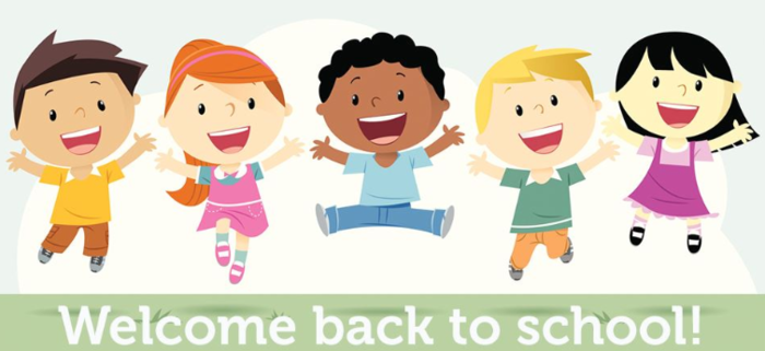 The First Day of School for Kindergarten Boys and First Grade is Thursday, August 9th and Friday, August 10th for Kindergarten Girls