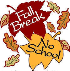 Fall Break-No School