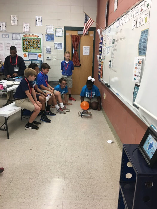 Scooters in Ms. Lynch's 6th Grade Science Class